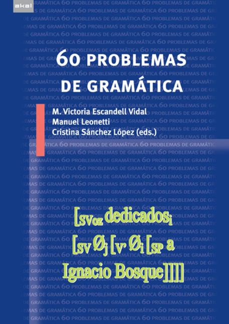 60 Problemas De Gramática - 9788446035275