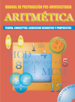 Aritmetica, Manual de Preparacion Preuniversitaria - 9789972209451