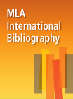 Modern Language Association (MLA) International Bibliography - 176142