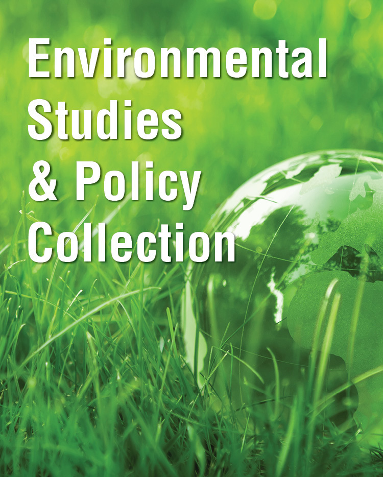 Environmental Studies and Policy Collection - 233376
