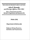 JFK's Foreign Affairs and International Crises, 1961-1963 - 254398