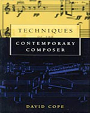 Techniques of the Contemporary Composer - 9780028647371