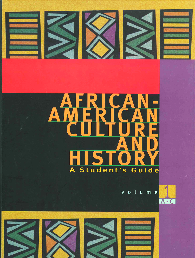 African-American Culture and History: A Student's Guide - 9780028655314
