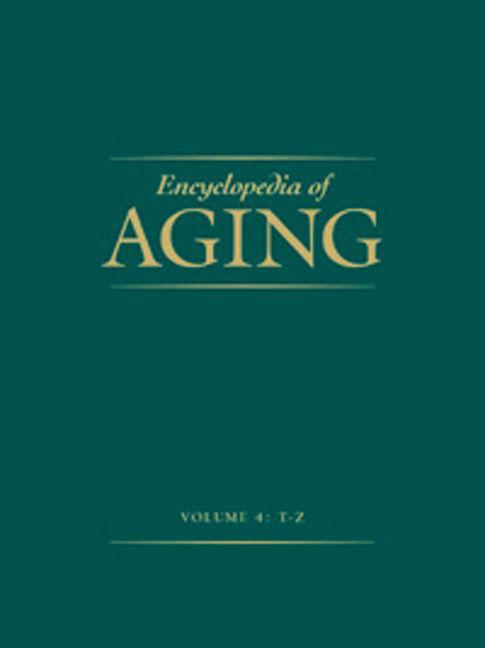 Encyclopedia of Aging - 9780028658797