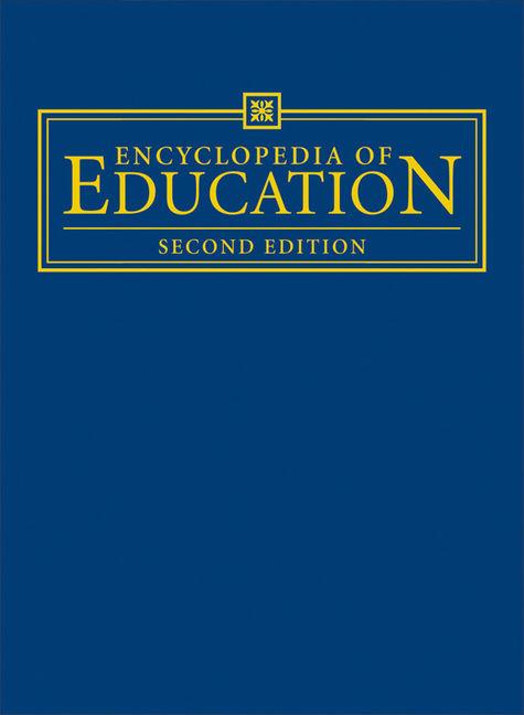 Encyclopedia of Education - 9780028658827