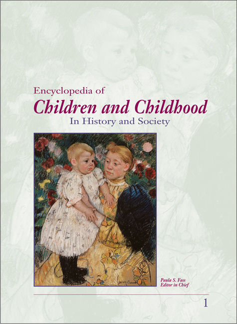 Encyclopedia of Children and Childhood: In History and Society - 9780028659152