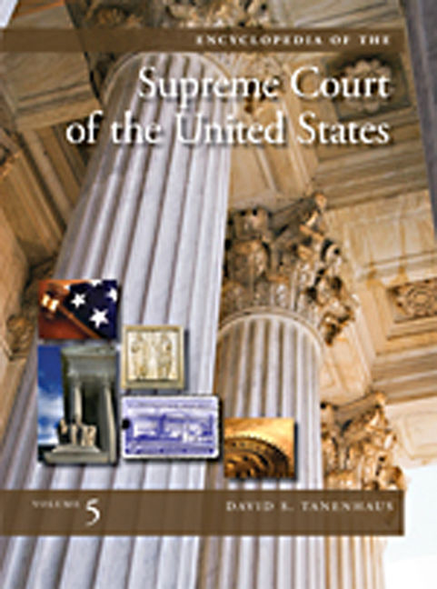 Encyclopedia of the Supreme Court of the United States - 9780028661292