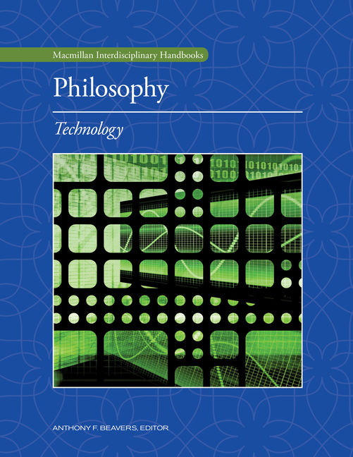 Philosophy: Technology - 9780028663470