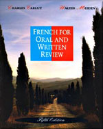 French for Oral and Written Review - 9780030758997