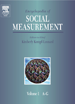 Encyclopedia of Social Measurement - 9780080547800