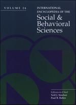 International Encyclopedia of Social & Behavioral Sciences - 9780080548050