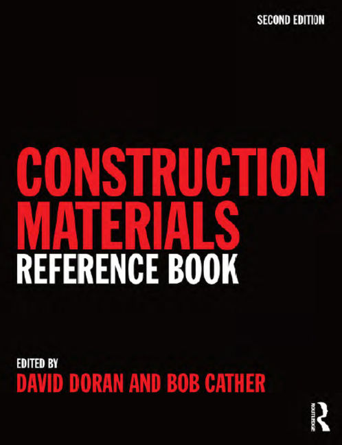 Construction Materials Reference Book - 9780080940380