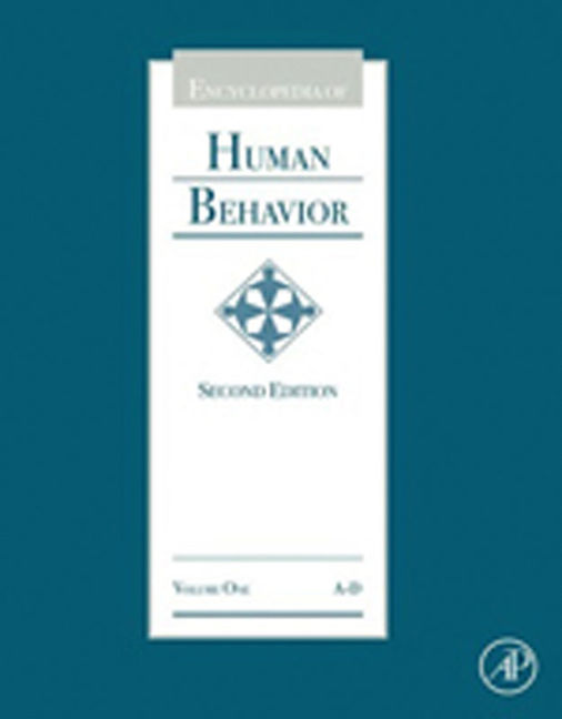 Encyclopedia of Human Behavior - 9780080961804