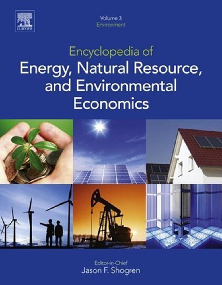 Encyclopedia of Energy, Natural Resource, and Environmental Economics - 9780080964522