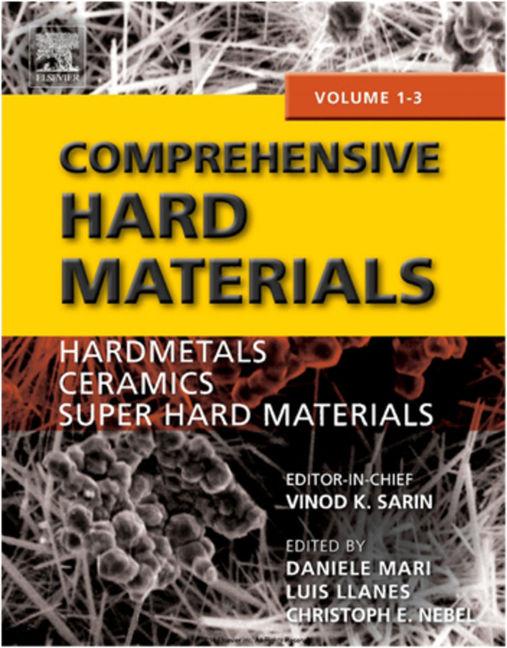 Comprehensive Hard Materials - 9780080965284