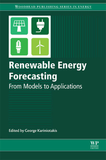 Renewable Energy Forecasting: From Models to Applications - 9780081005057
