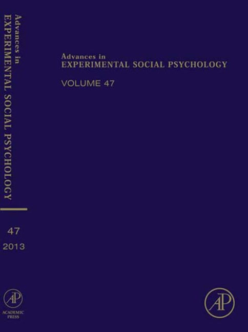 Advances in Experimental Social Psychology - 9780124072480