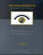 The Human Perspective: Readings in World Civilization, Volume II: The Modern World Through the Twentieth Century - 9780155013469