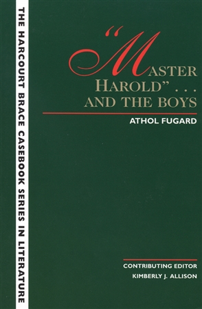 The Wadsworth Casebook Series for Reading, Research and Writing: Master Harold - 9780155054837