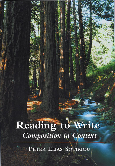 Reading to Write: Composition in Context - 9780155061231
