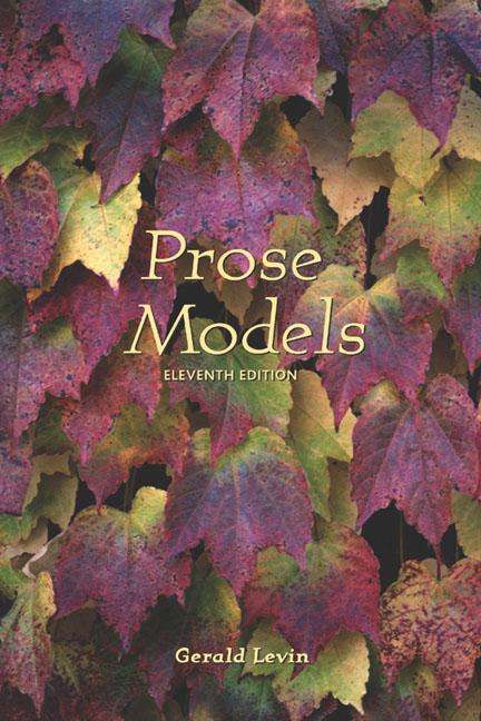 Prose Models - 9780155064041