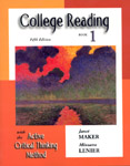 College Reading with the Active Critical Thinking Method: Book 1 - 9780155066441