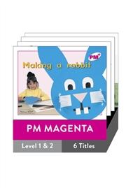 PM Plus Non-Fiction Magenta Level 1-2 Pack (6 titles) - 9780170095549