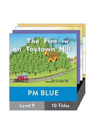 PM Plus Story Books Blue Level 9 Pack (10 titles) - 9780170096546