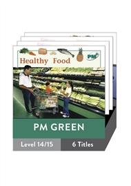 PM Plus Non-Fiction Green: Food Pack (6 titles) - 9780170096843