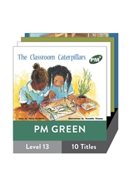 PM Plus Story Books Green Level 13 Pack (10 titles) - 9780170097024