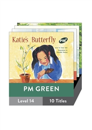 PM Plus Story Books Green Level 14 Pack (10 titles) - 9780170097130