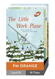 PM Plus Story Books Orange Level 15 Pack (10 titles) - 9780170097246
