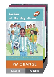 PM Plus Story Books Orange Level 16 Pack (10 titles) - 9780170097352