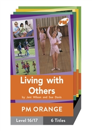 PM Plus Non-Fiction Orange: Looking at Ourselves Pack (6 titles) - 9780170097598