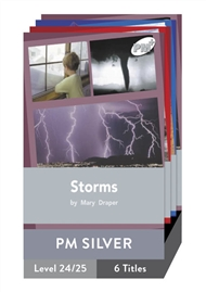 PM Plus Non-Fiction Silver: Natural Forces Pack (6 titles) - 9780170098625