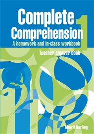 Complete Comprehension 1 Teacher Answer Book - 9780170111249