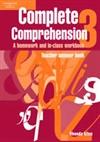 Complete Comprehension 3 Teacher Answer Book : Teacher Answer Book