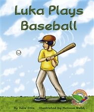 Luka Plays Baseball - 9780170113090