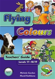 Flying Colours Turquoise Level 17-18/19 Teachers' Guide - 9780170117340