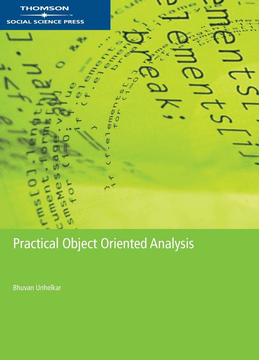 Practical Objected Oriented Analysis - 9780170122986
