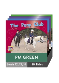 PM Photo Stories Green Level 12-14 Pack (10 titles) - 9780170123112