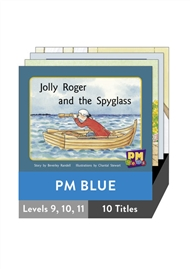 PM Gems Blue Level 9-11 Pack (10 titles) - 9780170124485
