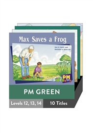 PM Gems Green Level 12-14 Pack (10 titles) - 9780170124591