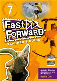 Fast Forward Yellow Level 7 Teacher's Guide - 9780170125123