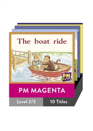 PM Gems Magenta Level 2-3 Pack (10 titles) - 9780170128339