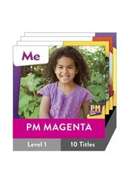 PM Starters Magenta Level 1 Pack (10 titles) - 9780170133234