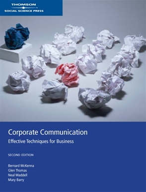 Corporate Communications: Effective Techniques for Business - 9780170134293