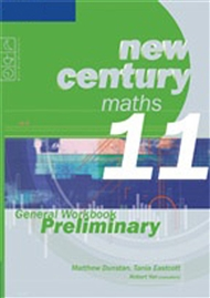 New Century Maths 11 General Workbook Preliminary - 9780170135078