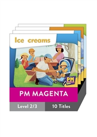 PM Starters Magenta Level 2-3 Pack (10 titles) - 9780170135757