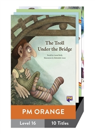 PM Orange Guided Readers Level 16 Pack x 10 - 9780170170529